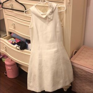 Monnalisa chic white dress